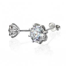 Cherished - 8 prong Stud Earrings