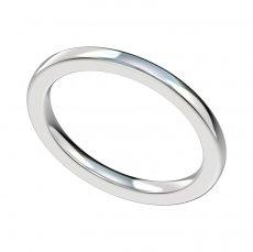 1.65mm Plain Wedding Band