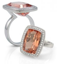 Stunning Morganite Ring
