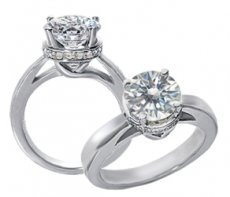 Enchanted Love Accented With Natural diamonds