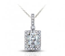 Amore Perfetto Pendant Accented With Natural Diamonds
