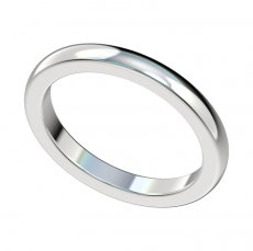 2.3mm Plain Wedding Band