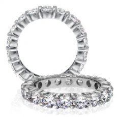 Wedding Bands With RB & Diamonds