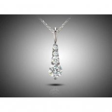 Celestial Pendant Set With Russian Brilliants® Diamond Simulants