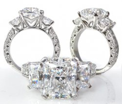 VIP Trinity - Artistically Accented With Natural Diamonds
