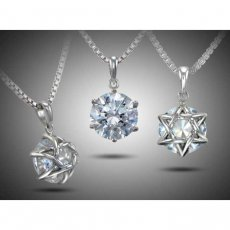 Jewish Star Pendant Set With Russian Brilliants®