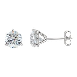 Dazzling Martini Glass Style Earrings