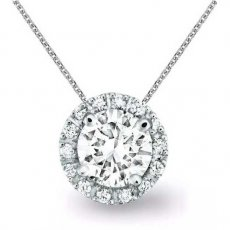 Endless Joy Pendant Accented With Natural Diamonds