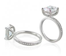 Bride2Be Engagement Ring Accented With Natural Diamonds