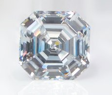 Asscher - Russian Brilliants® Loose Stone
