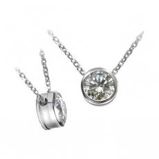 Slide Pendant Set With Round Russian Brilliants®