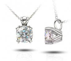 Sweet Heart Pendant Set With A Russian Brilliants®