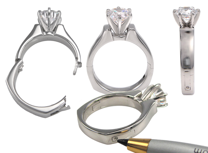 Adjustable Ring Shanks For Enlarged or Swollen Knuckles Russian