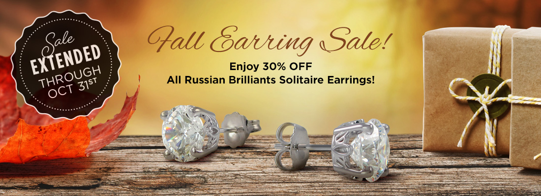 Save 30% OFF Earrings