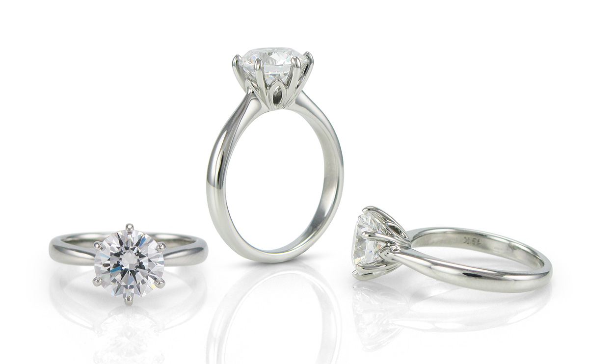 Diamond Ring Solitaire Designs