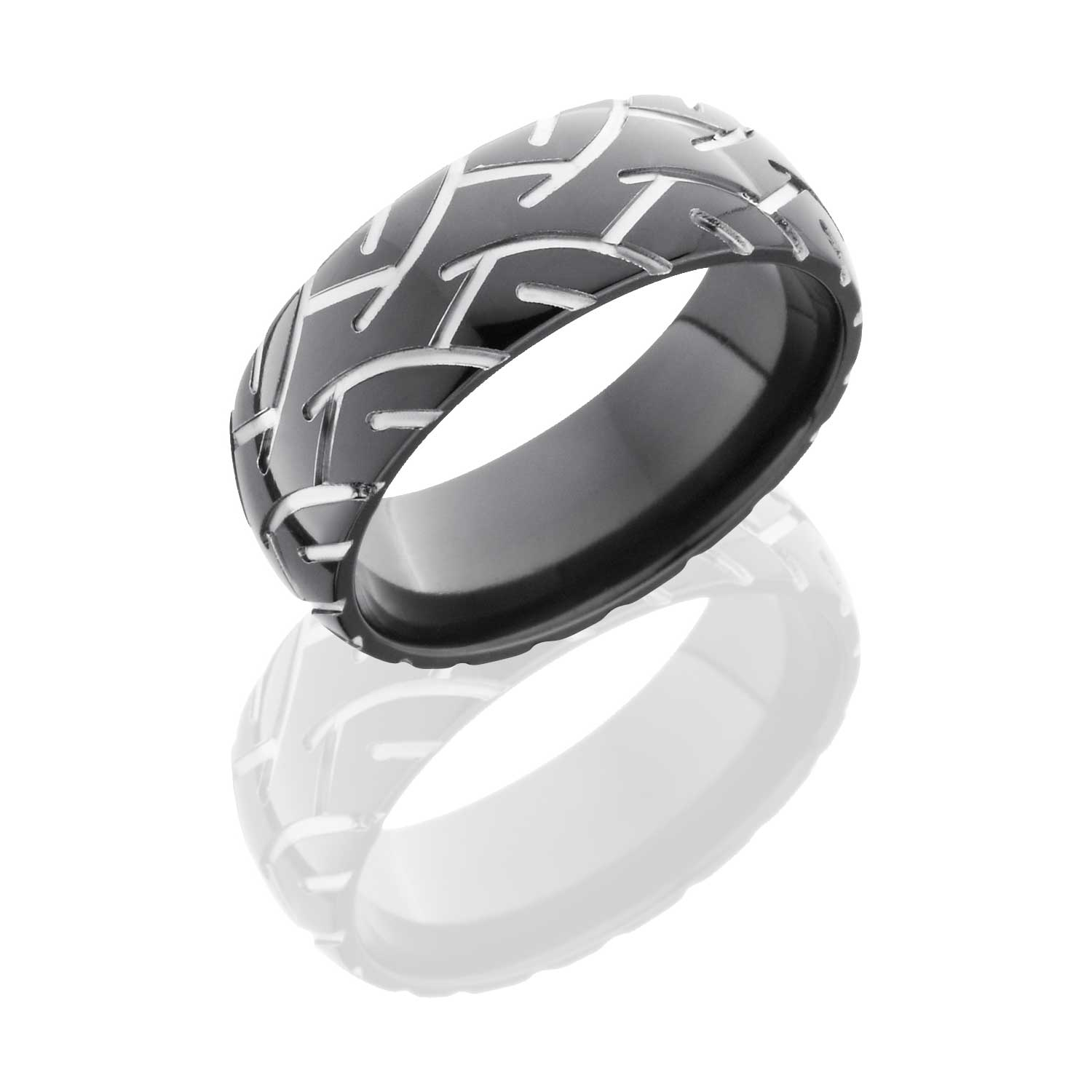 crosshatch collections for page wholesale black steel tire large embossed men tread tired pattern retina with com ring mens tommyway jewelry rings photo stainless s